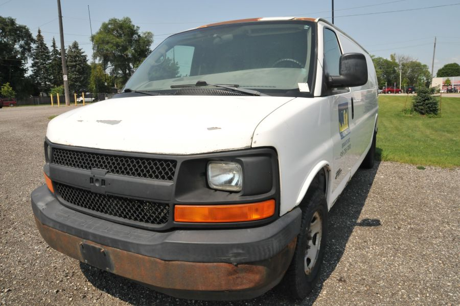 Used 2006 CHEVROLET EXPRESS 2500 For Sale